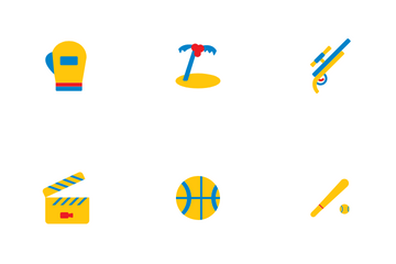 Hobbies And Entertain Icon Pack