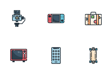 Hobbies And Free Time Icon Pack