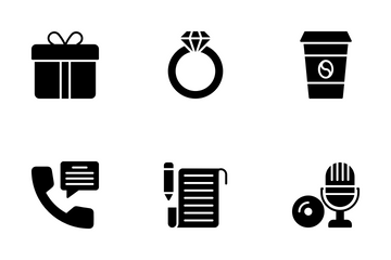 Hobbies And Interest Icon Pack