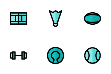 Hobbies And Sports Icon Pack