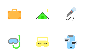 Hobbies & Freetime Icon Pack