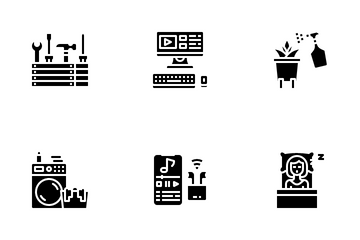 Home Activity Icon Pack
