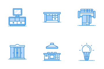Home Adornment Icon Pack