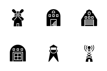 Home And Building Icon Pack