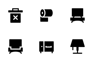 Home And Furnishings Icon Pack