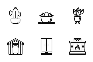 Home And Living Icon Pack