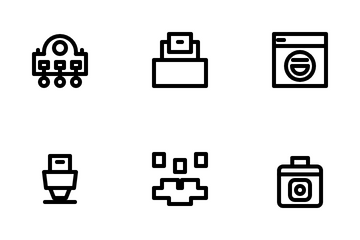 Home Appliance Icon Pack