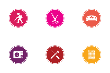 Home Appliance Color Icon Pack