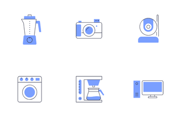 Home Appliances Icon Pack
