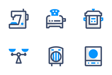 Home Appliances Basic Icon Pack