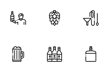 Home Brewing Beer Icon Pack