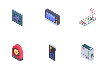 Home Climate Control Icon Pack