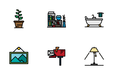 Home Decoration Icon Pack