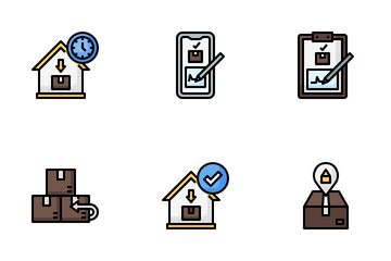 Home Delivery Icon Pack