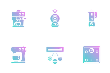 Home Electric Icon Pack