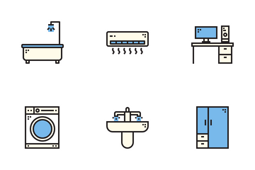 Home Equipment Icon Pack