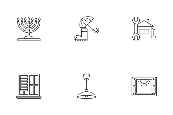 Home Equipment Vol 4 Icon Pack