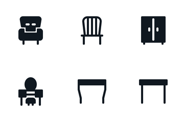 Home Furnishing Icon Pack