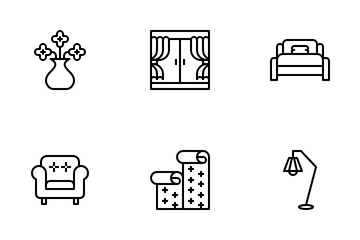 Home Furniture Icon Pack