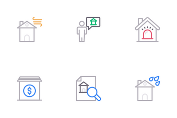 Home Insurance Icon Pack