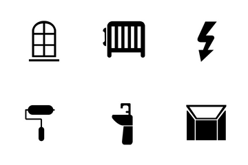 Home Interior  Icon Pack