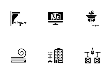 Home Renovation Repair Icon Pack