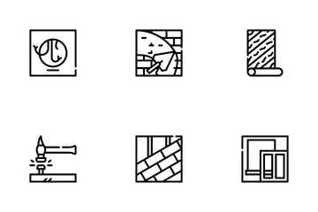 Home Repair Service Icon Pack