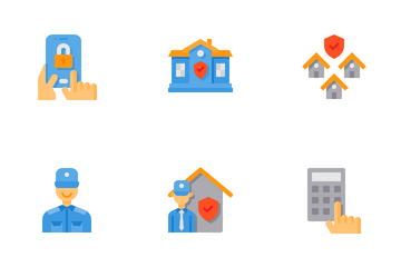 Home Security Icon Pack