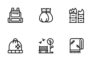 Homeless Icon Pack