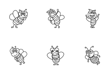 Honey Bee Icon Pack