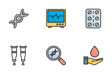 Hospital And Healthcare Icon Pack