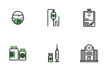 Hospital And Medical Icon Pack