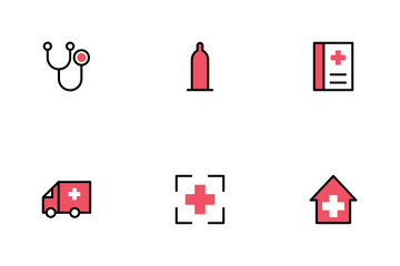 Hospital And Medical I Icon Pack