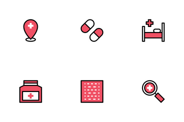 Hospital And Medical II Icon Pack