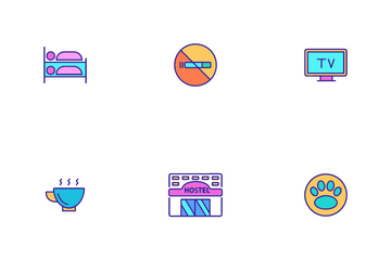 Hostel Icon Pack
