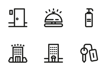 Hotel 1 Icon Pack