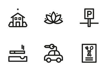 Hotel 3 Icon Pack