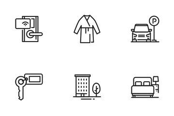 Hotel & Accommodation Icon Pack