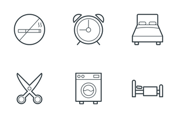 Hotel And Restaurant 1 Icon Pack