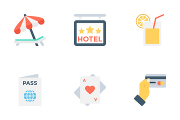 Hotel And Restaurant 2 Icon Pack