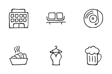 Hotel And Restaurant Vol 1 Icon Pack