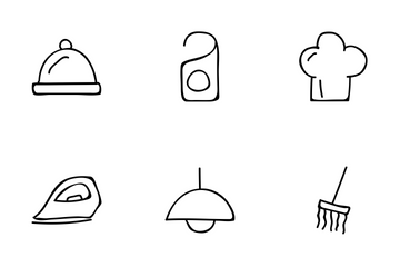 Hotel And Restaurant Vol 2 Icon Pack