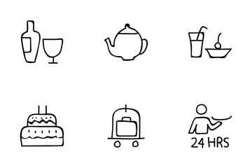 Hotel And Restaurant Vol 3 Icon Pack