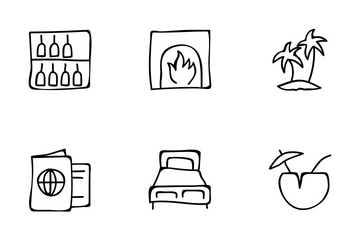 Hotel And Restaurant Vol 4 Icon Pack