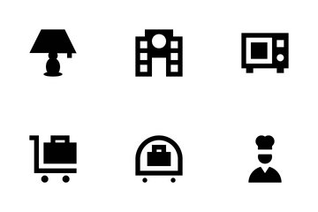 Hotel And Services Icon Pack