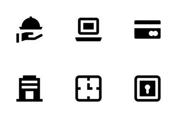 Hotel And Services Vol 1 Icon Pack