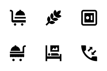 Hotel And Services Vol 2 Icon Pack