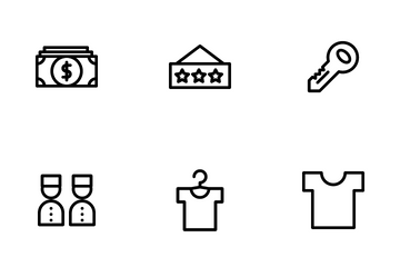 Hotel And Travel Icon Pack