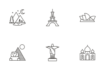 Hotel And Travel Vol 1 Icon Pack