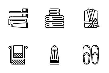 Hotel Essentials Icon Pack